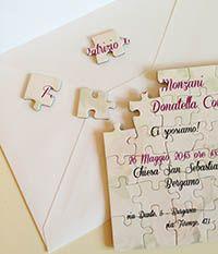 Wedding card puzzle
