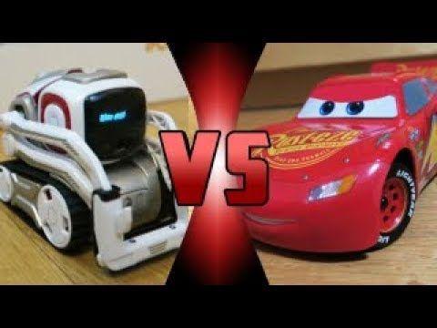 ROBOT DEATH BATTLE! - Cozmo VS Ultimate Lightning McQueen - YouTube