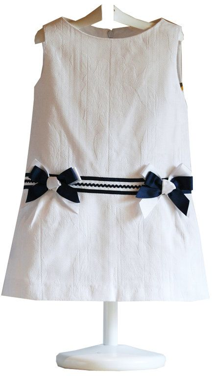 Vestido infantil Navy - demelocoton.com
