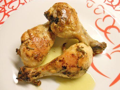 Ricetta dei fusi di pollo al forno con tempi e modi di cottura ed una marinatura che li rende saporitissimi...