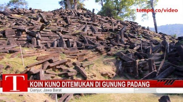 Gunung Padang Punya Ruang Bawah Tanah Misterius