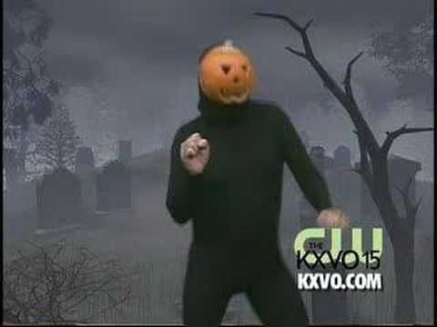 Pumpkin Man Dance....comically disturbing.  This is an annual post on my Halloween Blog because Halloween just isn't as fun without the Pumpkin Man Dance!  :o)