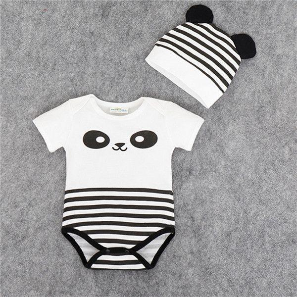 Bebê Da Menina do Menino 2 Pçs/set Roupas Lindas Infantil Romper Jumpsuits Rompers Macacões Recém nascidos Próxima Bebes em Macacão/Body de Mamãe e Bebê no AliExpress.com | Alibaba Group