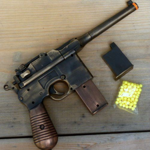 steampunk airsoft gun