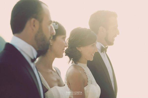 Dos parejas una boda. Doble boda en Ibiza