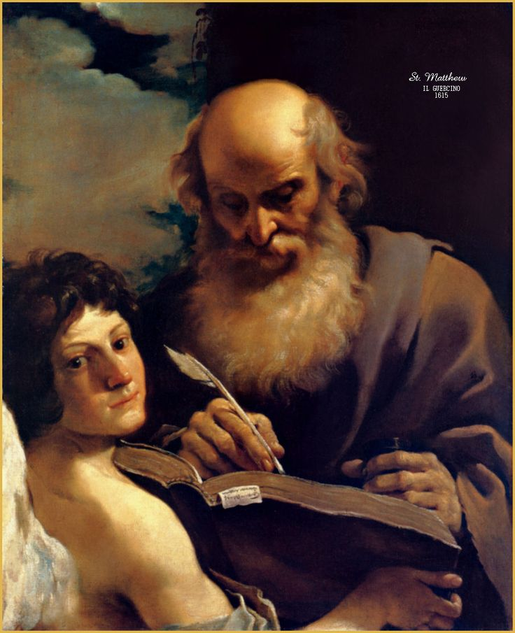 an analysis of the gospel of st matthew The calling of saint matthew illustrates the passage in the gospel of matthew (matthew 9:9), when jesus went into the custom house, saw matthew at his seat and called to him, follow me according to the story matthew rose and followed him.