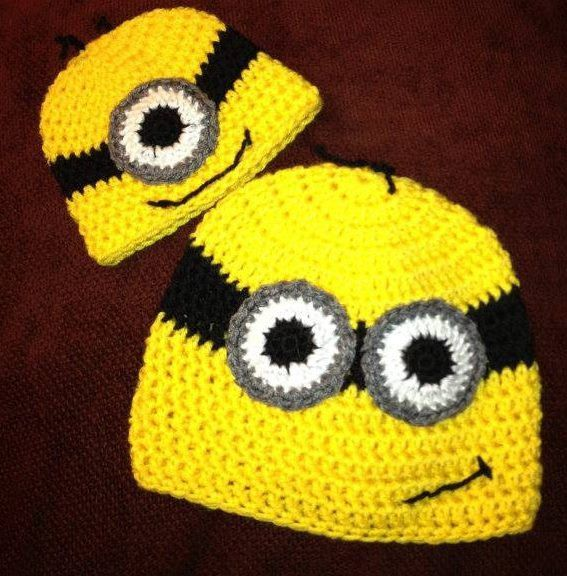 Crochet cartoon hat