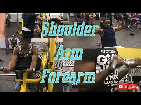 In this video, vlog whatever you want to call it, we are doing few workout  routine for Shoulder arm and forearm. 3 set of 8 for everthing  Shoulder press Rope pull Bicep curls Triceps extension IG:@Famous_Eazy YT:@Alston Cambrige  IG:Alston_bpp_ IG:@Big_Famous_Wayne IG:@D.Renzo  source