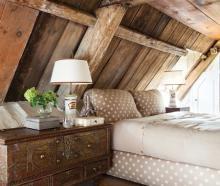 Chambre chaude et texturée