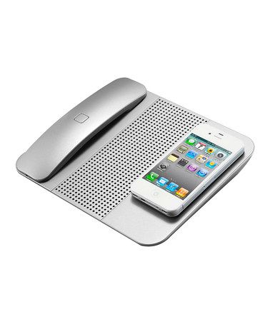 Take a look at this Silver Cordless Bluetooth Handset by Sound Waves: Tech Accessories on #zulily today!