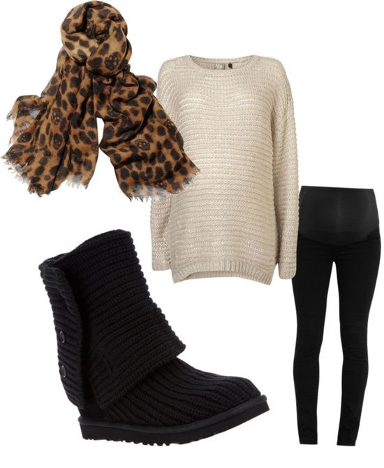 """""""perfect Fall Pregnancy Outfit"""" By Savannah-marshall On Polyvore"""