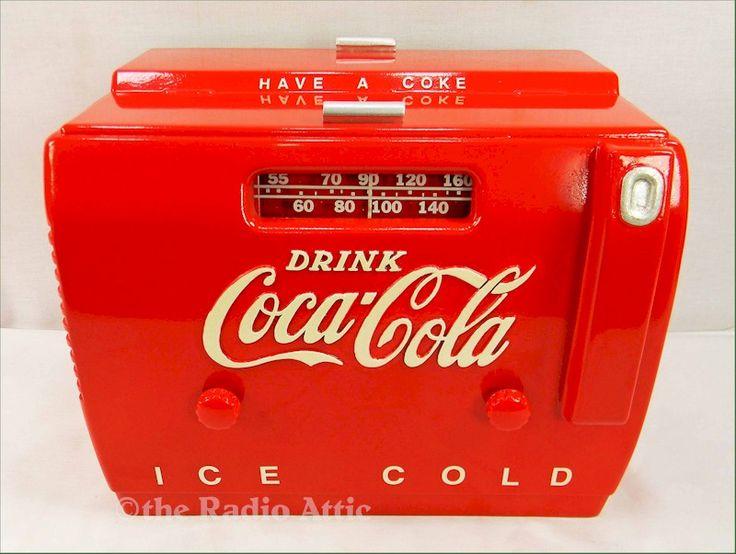 Point of Sale Displays Inc. Coca-Cola Cooler Radio (1949)