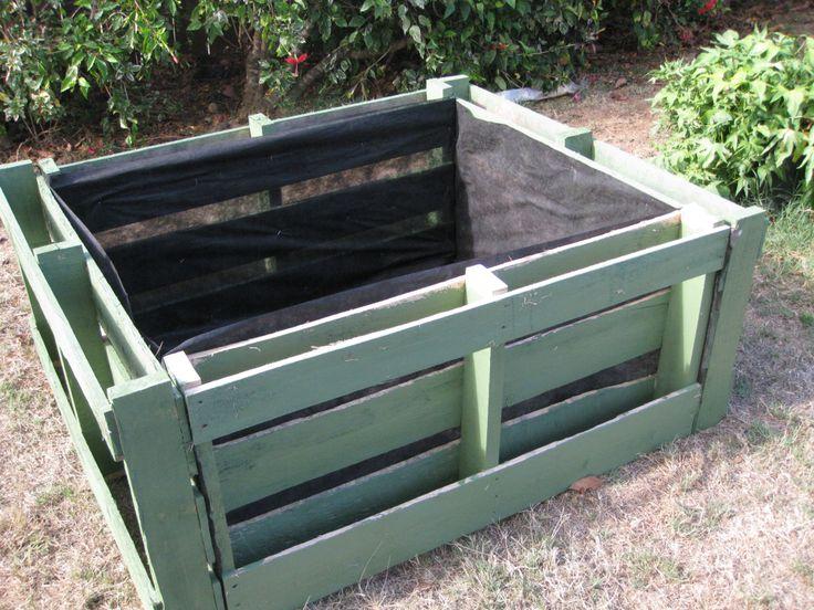 Wood Vegetable Garden Planter Boxes