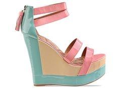 bright pastel shoes