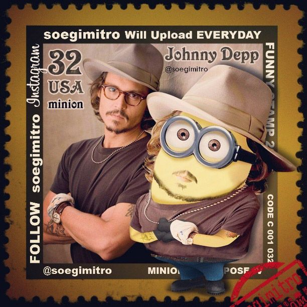 Johnny Depp Minion.