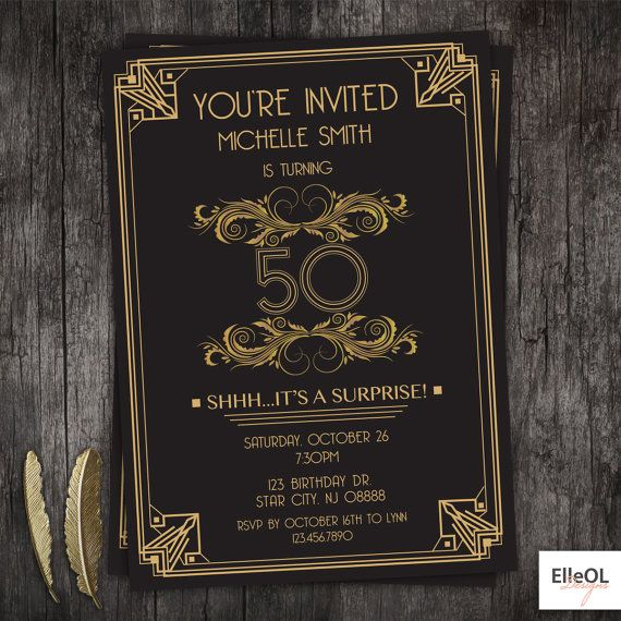 Best 25+ Great gatsby invitation ideas on Pinterest   Deco ...