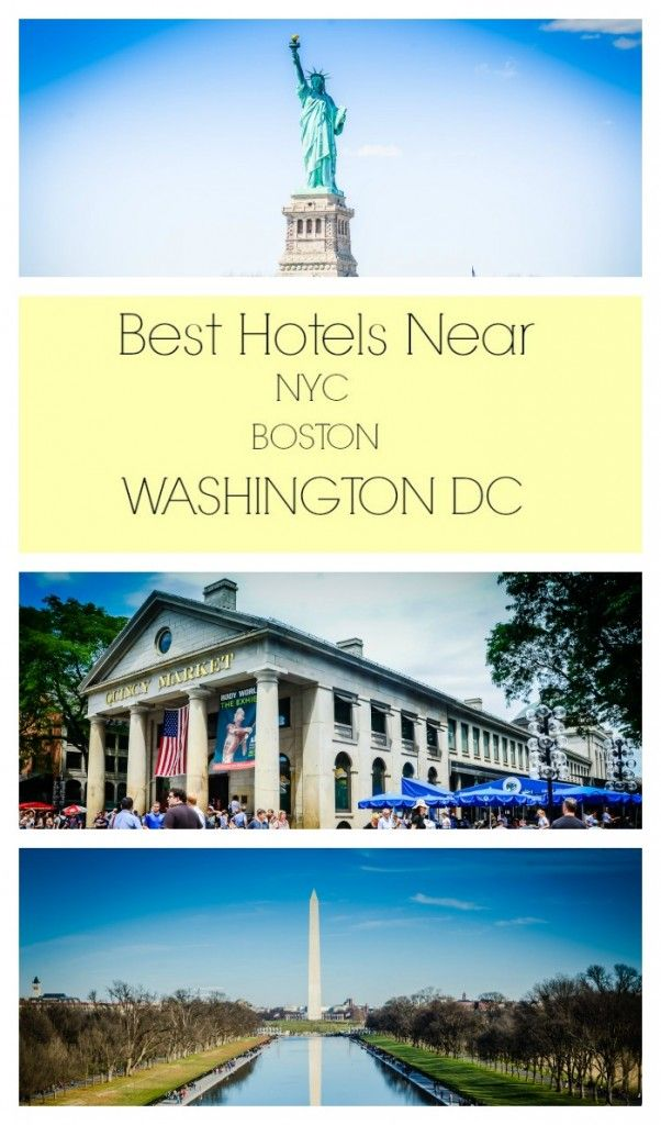 Save money on big city adventures. Best tips on where to find hotels near Boston, Washington, D.C., and New York City--links to city transit maps and hotel recommendations near train stations.