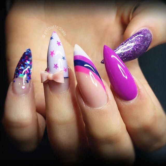 2279 best Nails images on Pinterest   Nail ideas, Stiletto ...