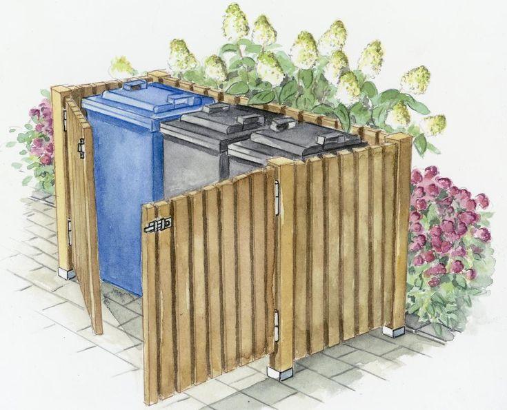 Mülltonnenbox von Siebau Mülltonnenbox