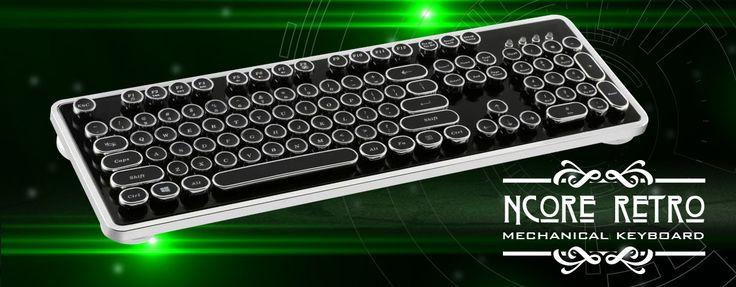 Nanoxia Ncore Retro - US-Layout | Ncore Retro | Keyboards | Products | nanoxia (EN)