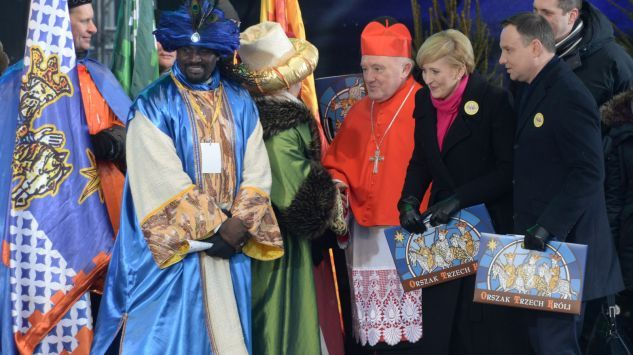 Kostiumy Trzech Króli. Projekt kostiumów: Agnieszka Monika Mazur