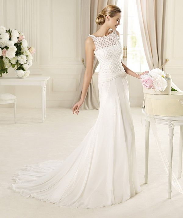 Pronovias Manuel Mota 2013 Wedding Dresses Collection