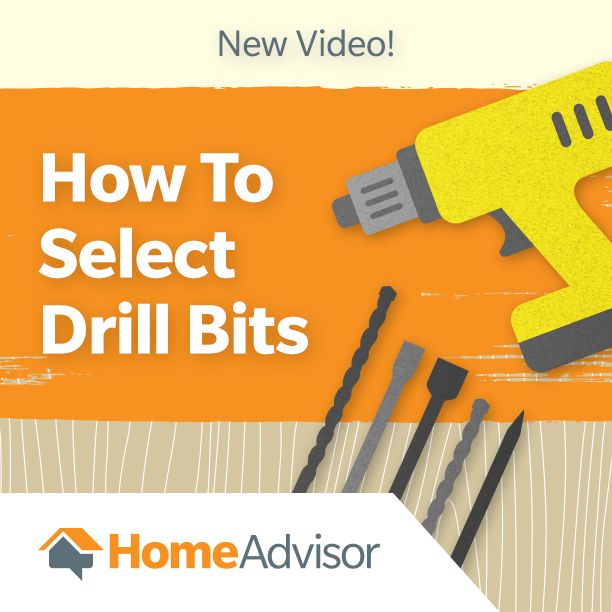 Learn which drill bit attachments you need to drill into concrete, wood and everything else. #drillbits #video #howto