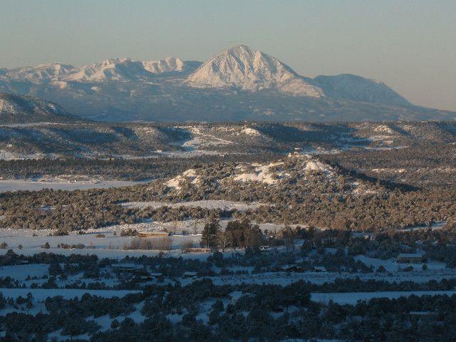 Sleeping Ute Mountain, southwest of Cortez, Colorado