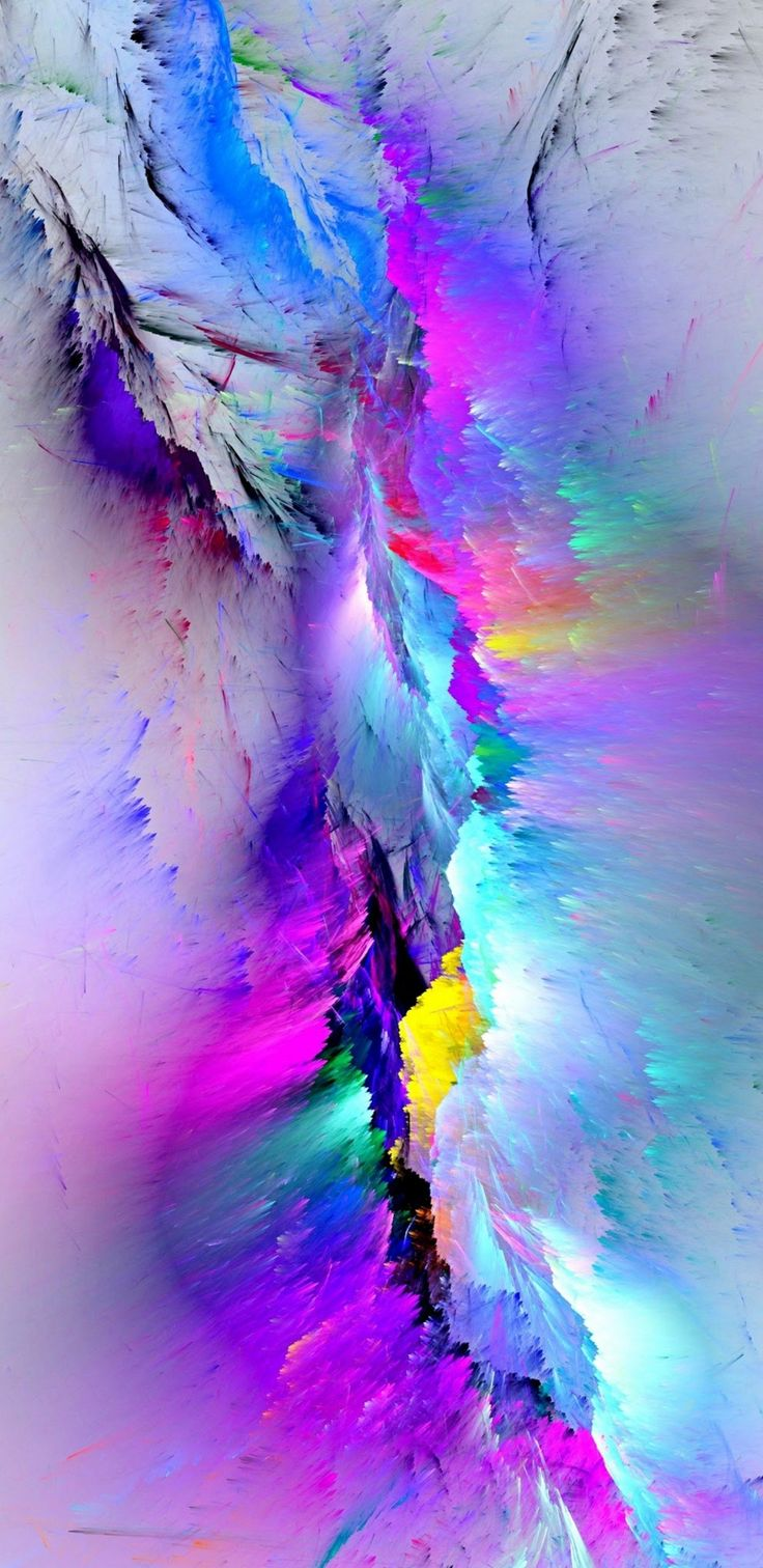 Colour pop Abstract iphone wallpaper, Rainbow wallpaper