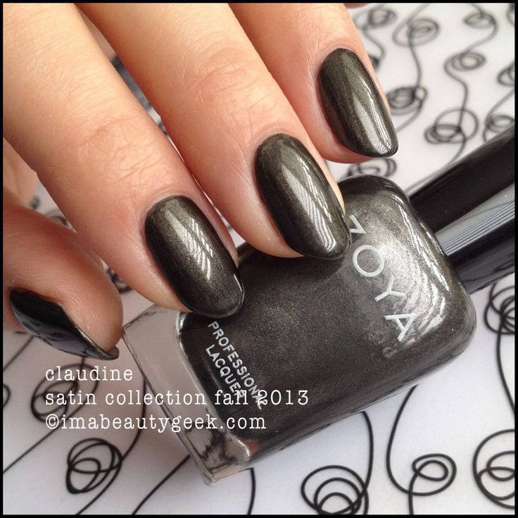 zoya claudine from the satins collection fall 2013