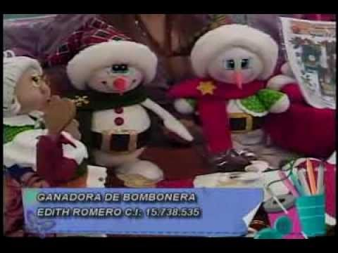 Jeanneth Oropeza. 4ta parte Santa termoformado foami - YouTube
