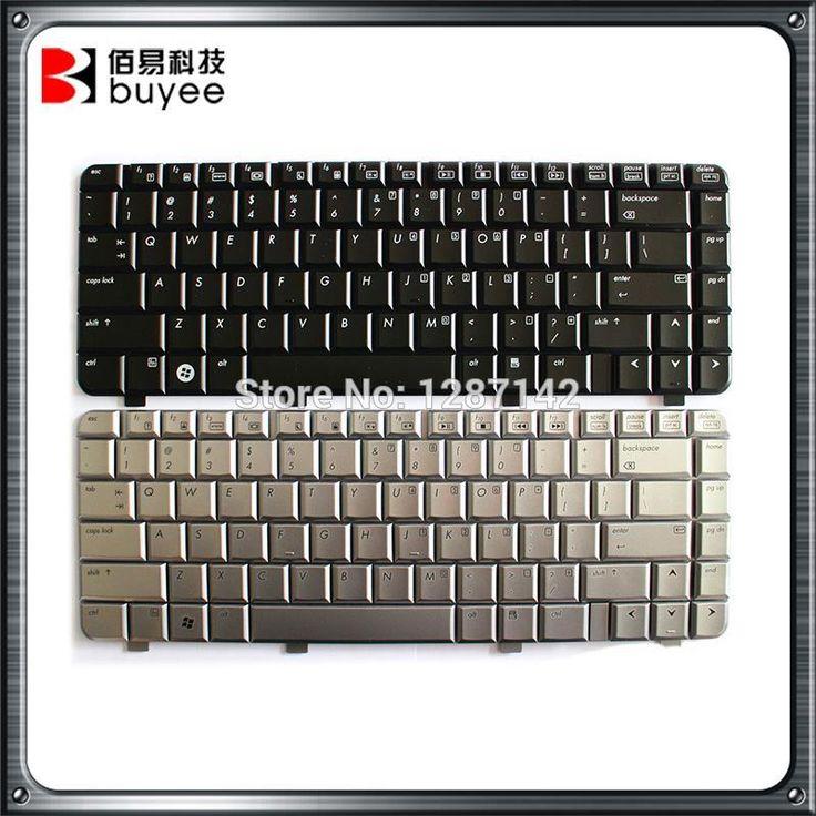 Black Silver Laptop US Keyboard For HP Pavilion DV4 Dv4-1000 dv4-1100 Dv4-1200 Dv4-1300 Parts