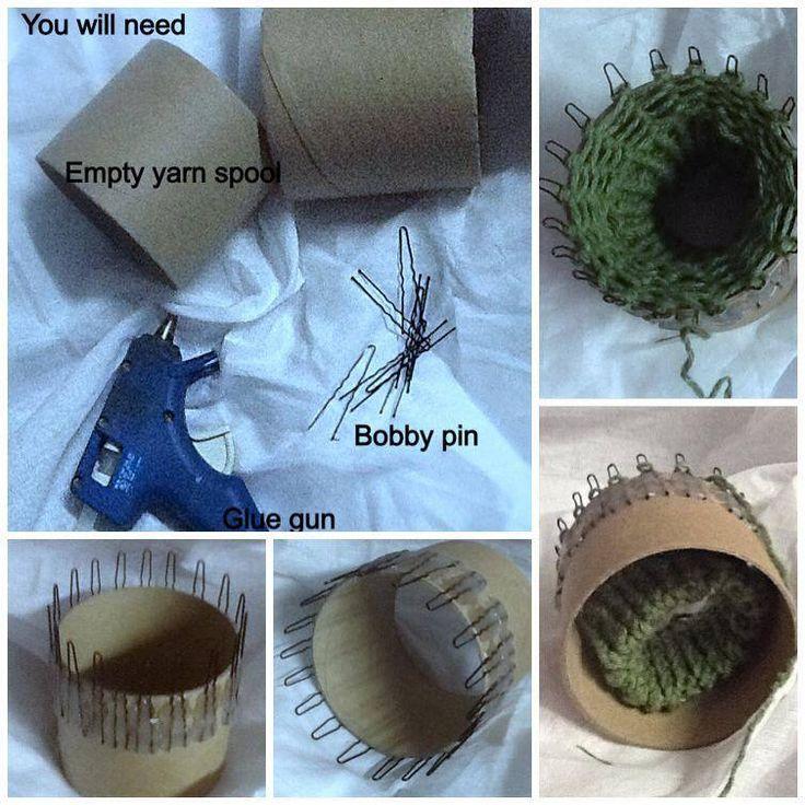 DIY Knitting Loom Made by  Designs by Lesa G
