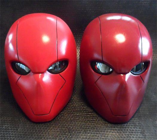 Amazing Red Hood Helmet