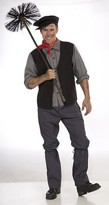 Chimney Sweep Costume - would be a cute match up with the mary poppins costume