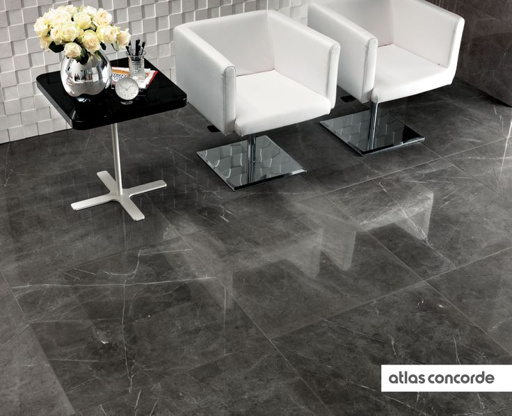 #MARVEL grey | #Floor design | #AtlasConcorde | #Tiles | #Ceramic | #PorcelainTiles