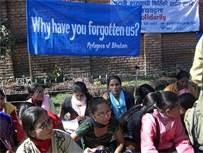 Bhutan. Bhutanese refugees in Nepal