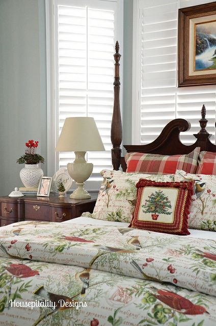 1000 images about bedrooms on pinterest guest rooms poster beds and bedroom furniture - Pottery barn holiday bedding ...