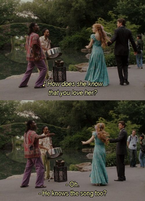 Enchanted....Love!!!!! Best movie ever, super funny