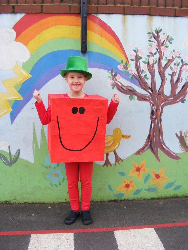 """""""Here is my DD dressed up as Mr Strong! """" #WorldBookDay"""