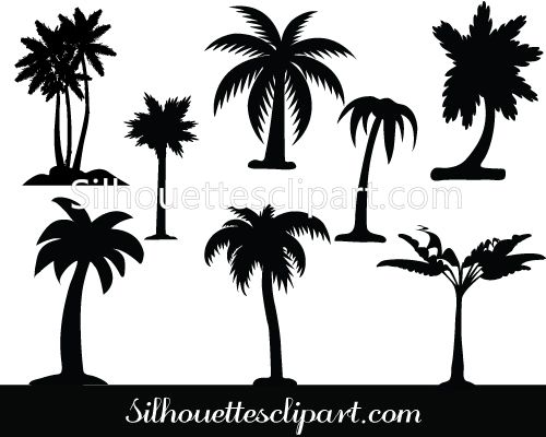 17 best ideas about Palm Tree Silhouette on Pinterest | Palm tree ...