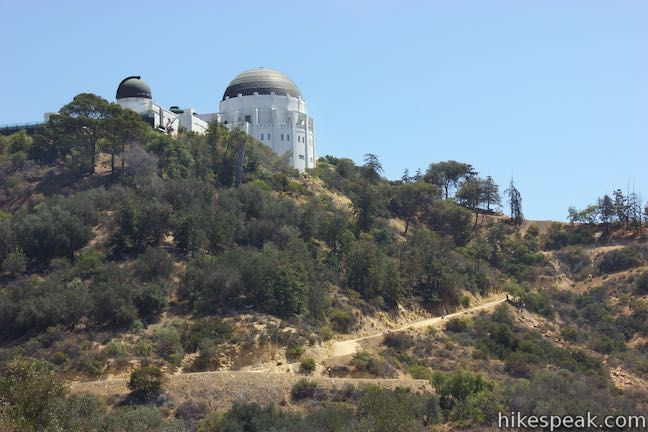 West Observatory Trail Griffith Observatory Griffith Observatory Griffith Park Observatory