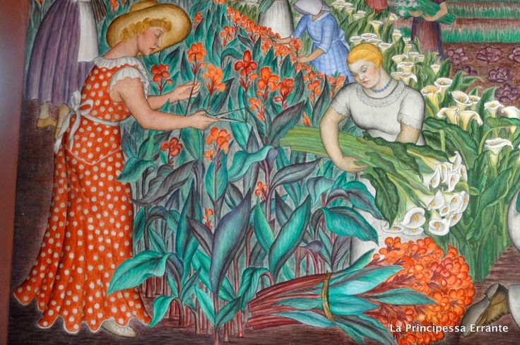 Detail coit tower mural 1935 george biddle for Coit tower mural artists
