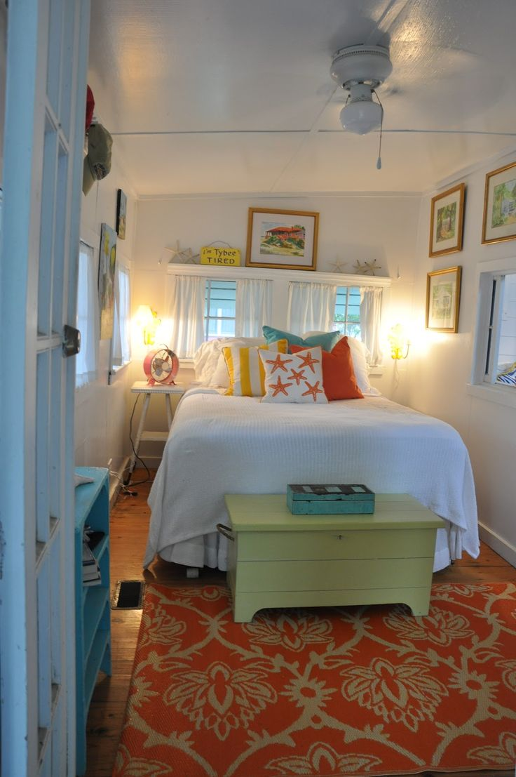 Beach cottage master bedroom - Jane Coslick Cottages A Little Shabby A Little Chic A Beach Cottage Bedroomstiny