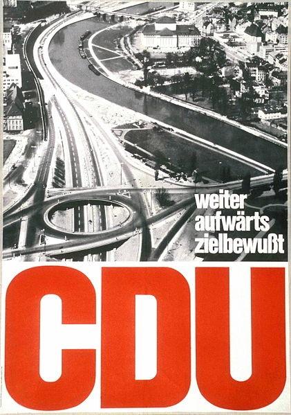 CDU, West Germany, 1965