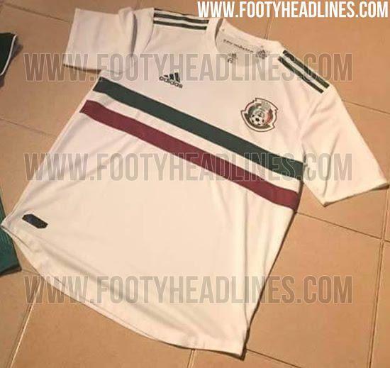 Filtran la playera que la Selección Mexicana usará en la Copa Confederaciones