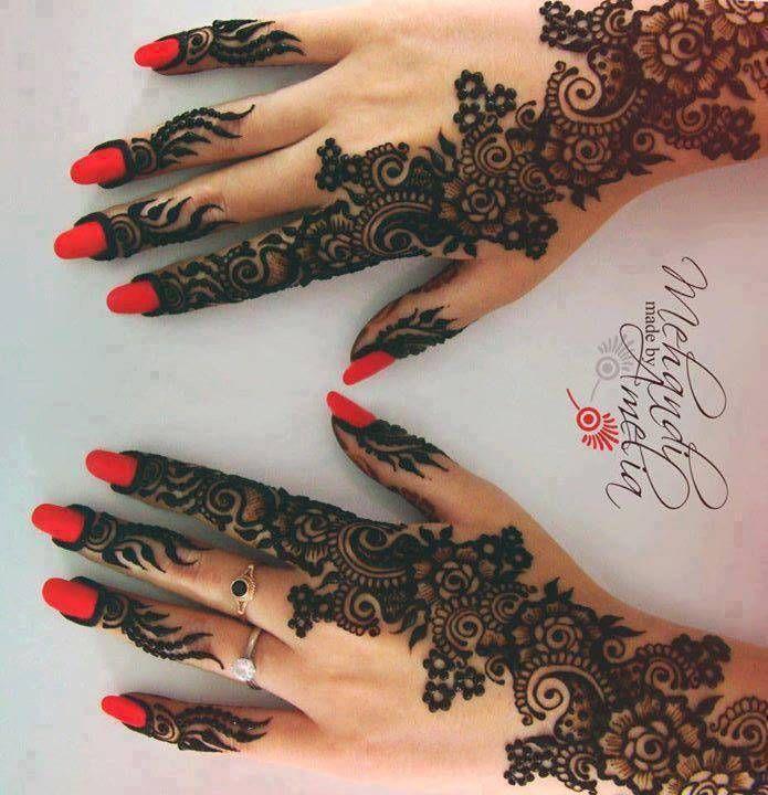 Mehndi For Back Side : Back side mehendi pinterest bridal henna designs
