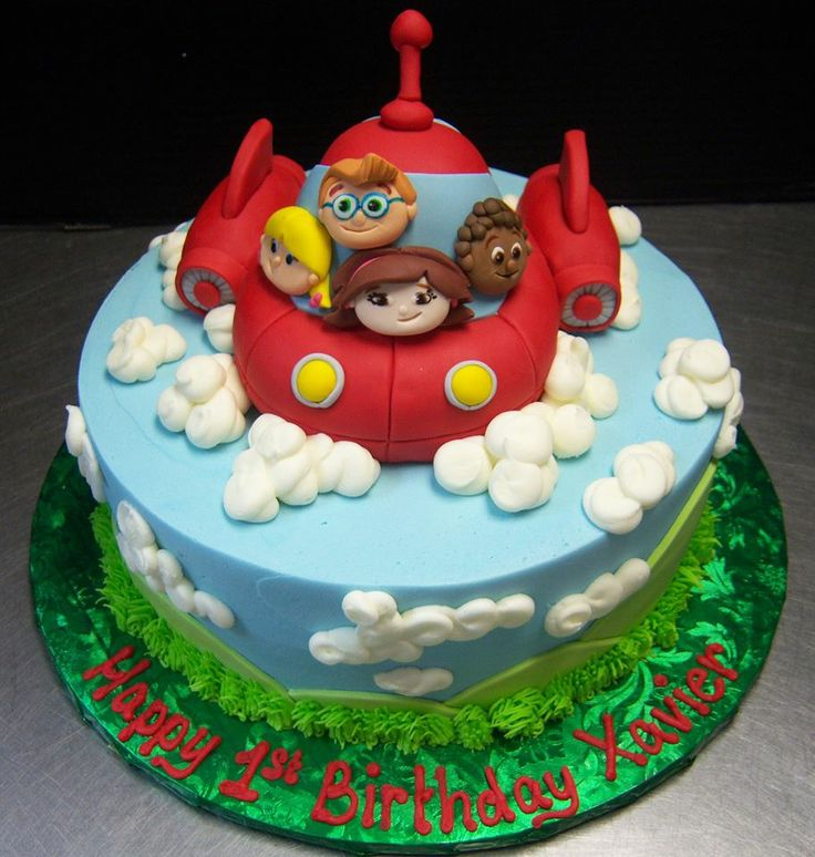 Little Einsteins Birthday Cake.. Decorated by Tasty Layers Custom Cakes