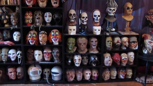 Η καλύτερη συλλογή με Ghost και Slipknot μάσκες