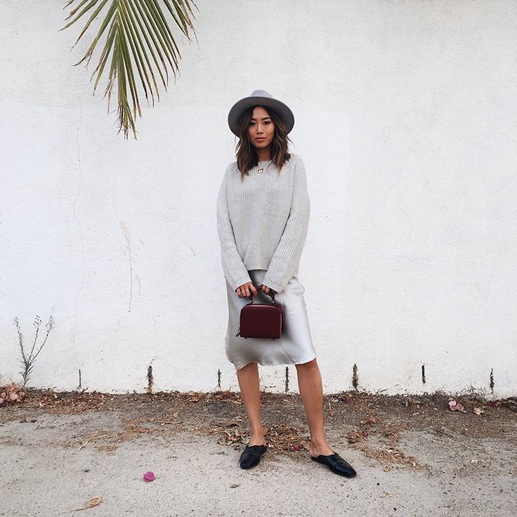 Aimee Song of the blog Song of Style shares her Top 10 Silk Dresses of the season